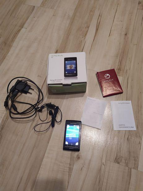 Sony Ericsson X8, od kobiety, zestaw