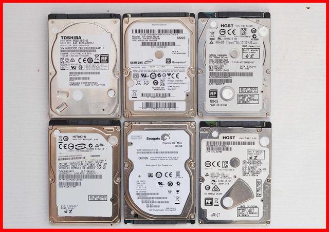 HDD 250, 320, 500 гб жёсткий диск винчестер Sata 2.5