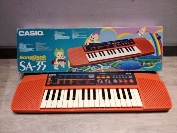 Casio SongBank Keyboard SA-35 with Lesson Function
