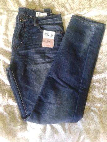 spodnie jeans męskie Denim 34/34