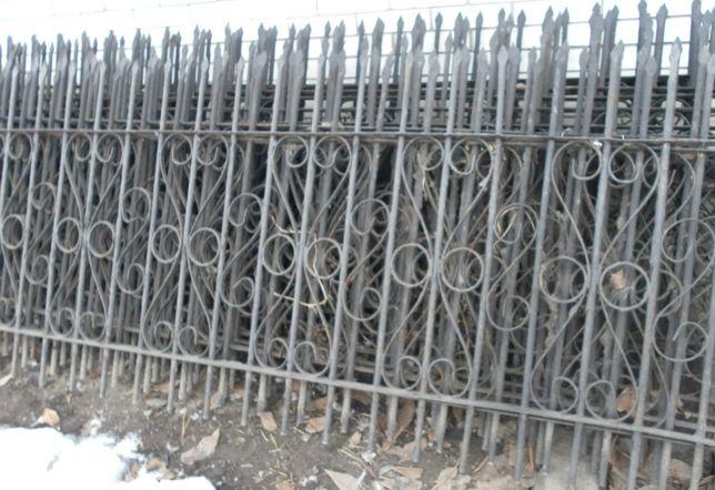 Продам металеві секції ,під камяний декоративний тин