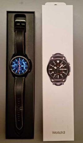 Samsung Galaxy Watch3 45mm LTE (como novo c/ garantia até 24/1/2023)