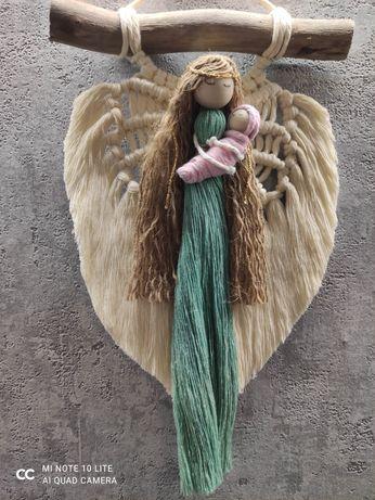 Anioł Stróż Chrzest urodziny pamiątka prezent