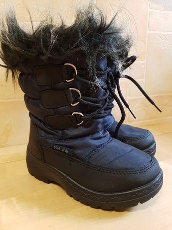 Buciki buty zimowe śniegowce dla dziewczynki  Nelly Blue rozm 26