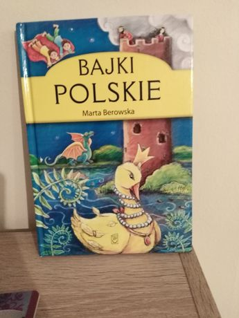 Książka dla dzieci bajki polskie