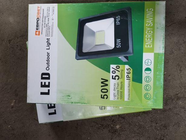 Светодиодный прожектор 50w ip65