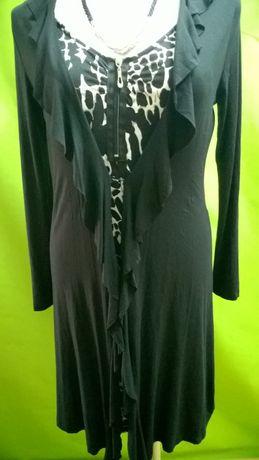 Sukienka z podwójnym przodem, 42-44