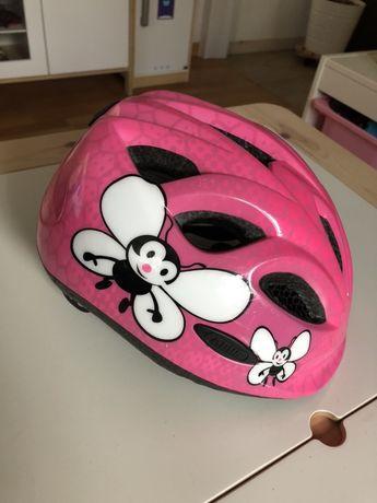 Abus - kask rowerowy dziecięcy rozmiar 45-50cm - super