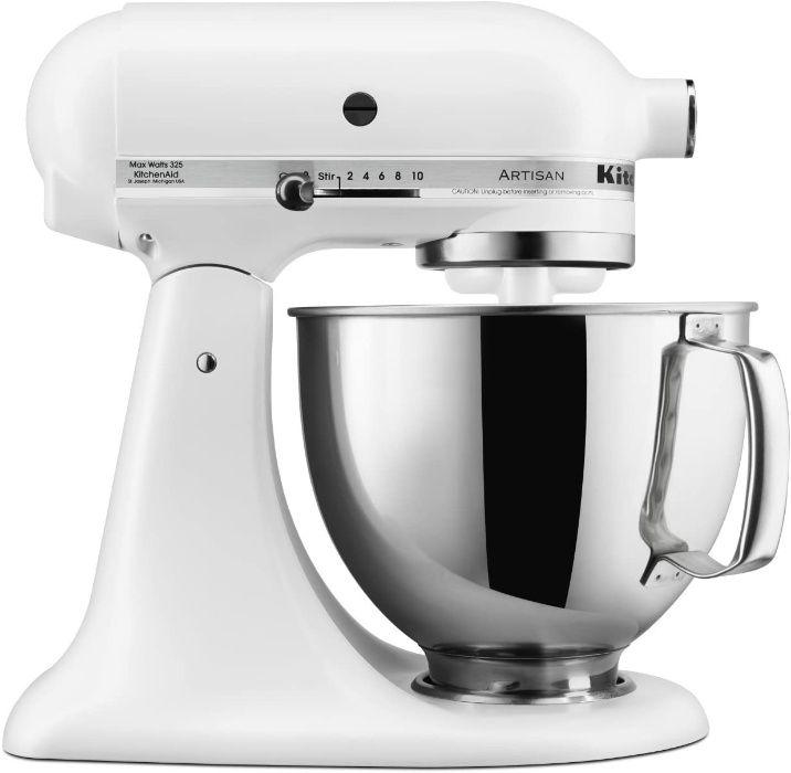 Кухонный комбайн Kitchenaid Artisan 5KSM150PSEFG белый Лубны - изображение 1