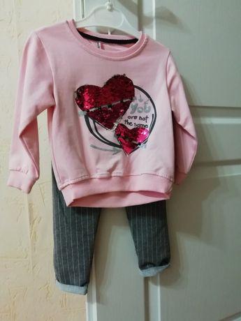 Костюм/кофта/штани на вік 2.5-3 роки