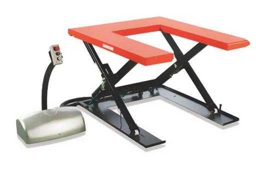 Podest elektryczny, podnośnik hydrauliczny udźwig 1000 kg HTF-U