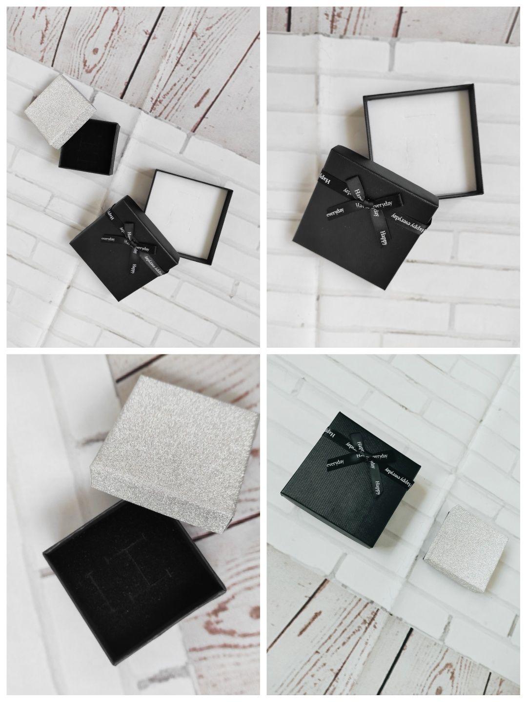 Zestaw pudełek prezentowych na biżuterię