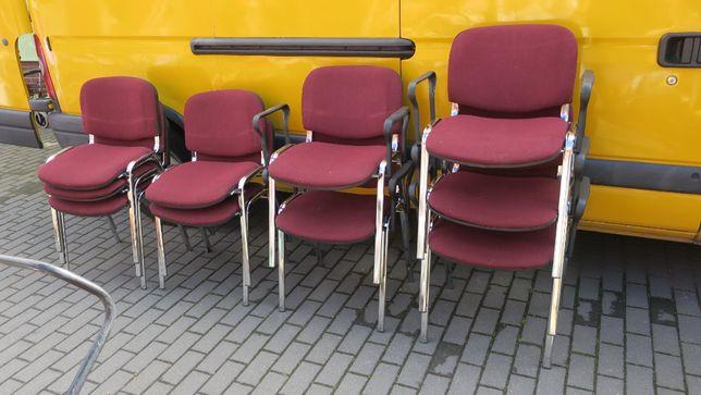 Krzesło konferencyjne z podłokietnikami - 5 szt.