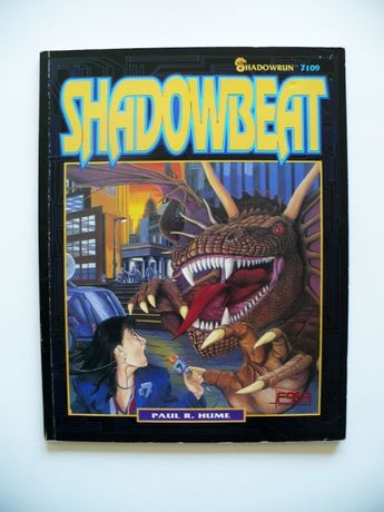 SHADOWRUN 7109 Shadowbeat Paul Hume 1992 RPG