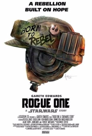 Poster Rogue One - a Star Wars story 2 (Novo)