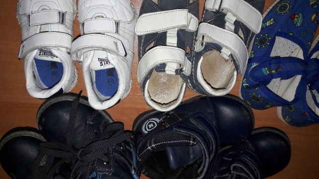 Ботинки, кроссовки, босоножки для мальчика( 21,5 ; 22; 23 размера)