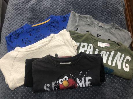 Bluzki bluzeczki Zara 104 + 1 gratis