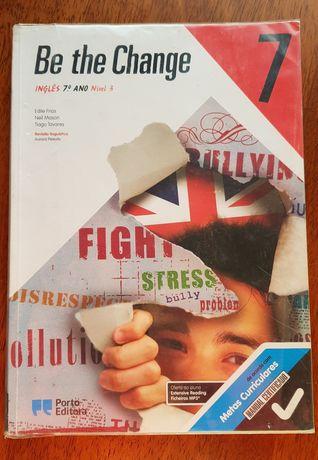 Livro de inglês Be the Change 7