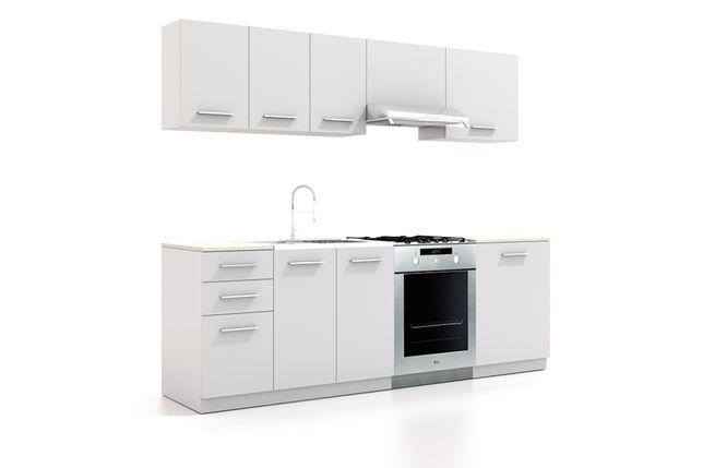 Meble kuchenne OLIWIA na wymiar 2,4 mb w 4 kolorach! dostawa od 1 PLN