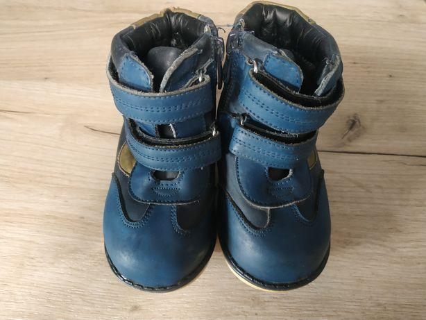 Зимние ботинки ,22 размер,шалунишка, ортопедическая подошва