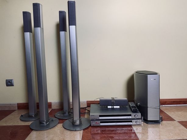 Amplituner sony str-ksl 40 + zestaw kina domowego sony