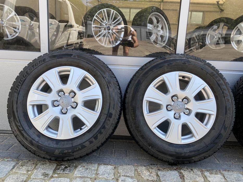 """"""" Alufelgi koła aluminiowe 16"""" AUDI Q3 Q5 + opony 215/65r16 !! Wałbrzych - image 1"""
