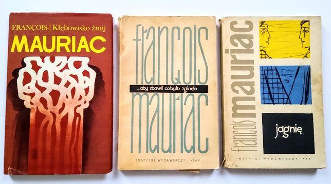 Francois Mauriac - Zestaw 3 książek