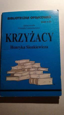 Opracowanie Krzyżacy Henryka Sienkiewicza streszczenie WYSYŁKA ładna