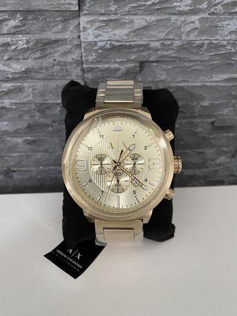 Armani Exchange zloty zegarek