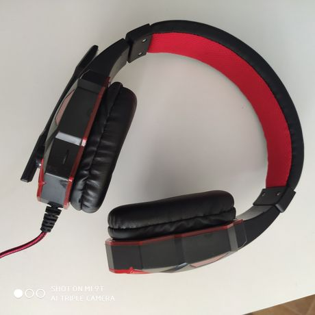 Słuchawki gamingowe LED