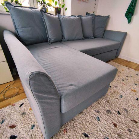 Kanapa narożnik z funkcją spania Ikea