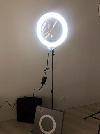 46 диаметр 60W Светодиодная кольцевая профессиональная led лампа