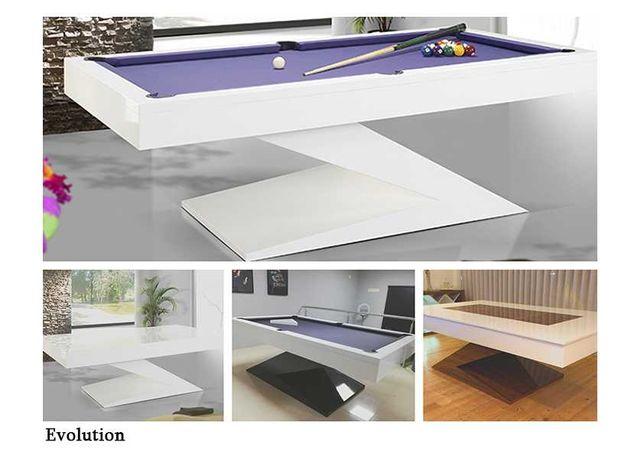 Bilhar Snooker Evolution com Tampo Jantar - Bilhares Capital