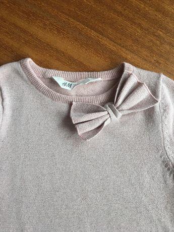 Brokatową sukienka H&M, 110/116