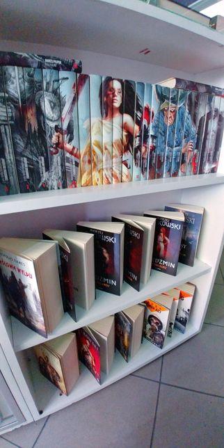 Książki fantastyka SF horror romans