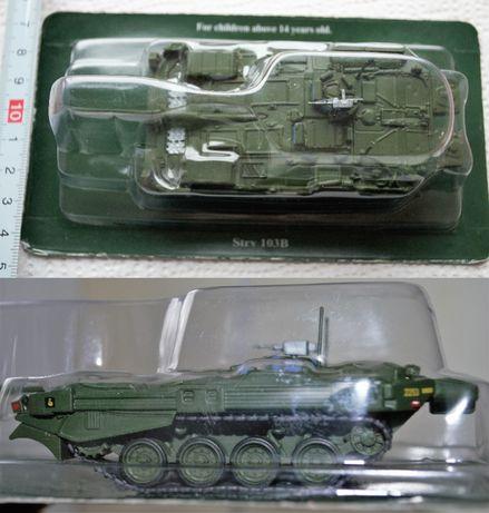 Model czołgu - Strv 103 B