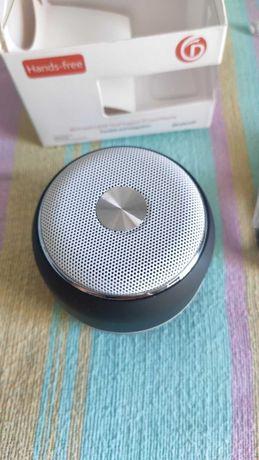 Coluna de som portátil Bluetooth