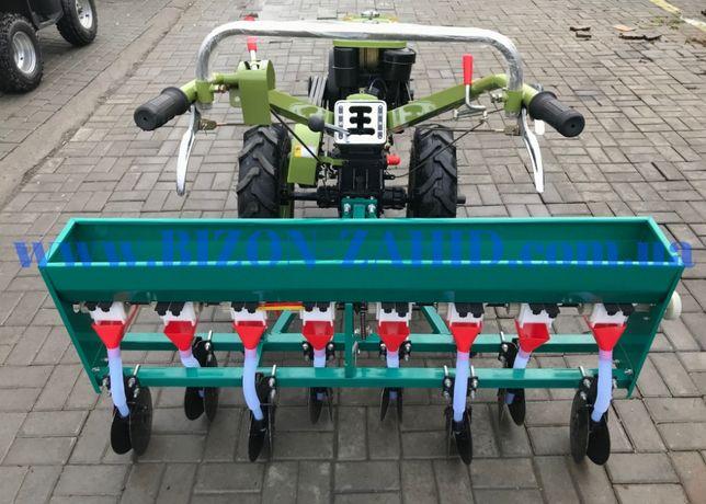 Зернова сiвалка 8 рядна дискова (сеялка зерновая) мотоблок, трактор