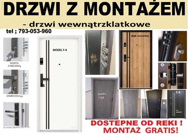 Drzwi wejściowe do mieszkania Zewnętrzne ,antywłamaniowe ,ocieplone