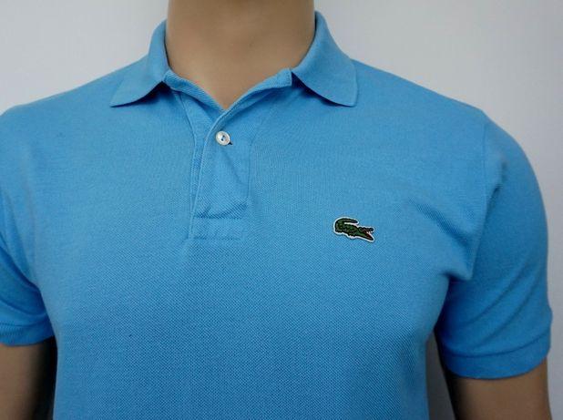 Męska koszulka polo LACOSTE Classic Fit S casual oryginalna