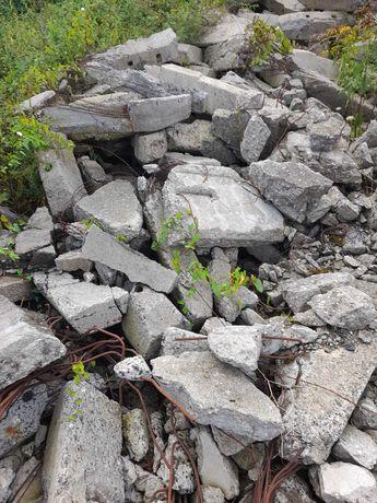 beton, gruz oddam za darmo
