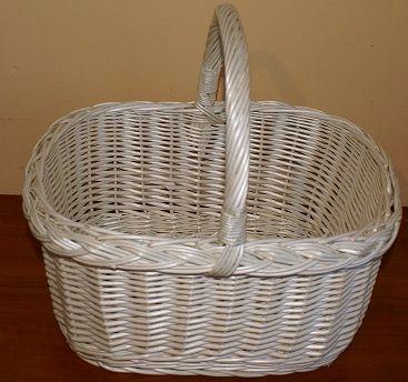 kosz zakupowy eko pojemnik koszyki wiklinowe kosz wiklina torba koszyk