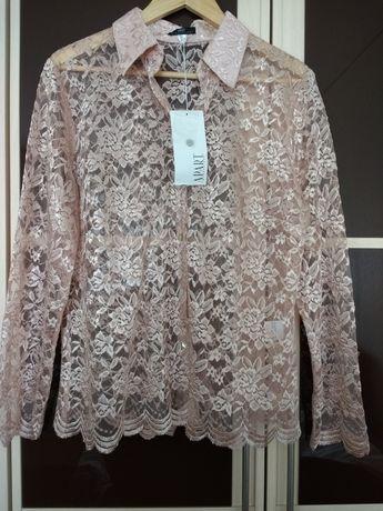 Блуза гипюровая, 50/52 размера