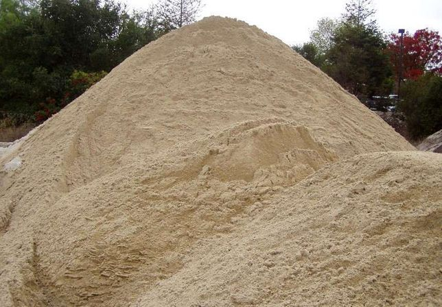 Песок белый речной, карьерный Зил Камаз