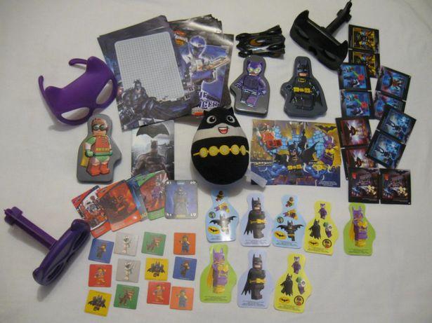 Zestaw Batman , Robin, Kobieta Kot