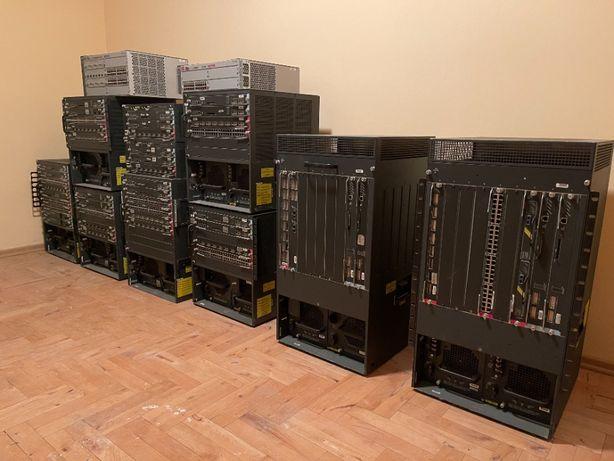 OKAZJA ooooooo CISCO HP 3COM serwer ownia switch router 7609 zestaw