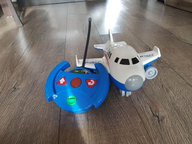 samolot z pilotem
