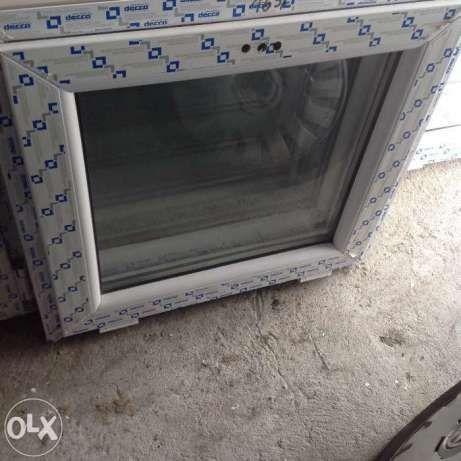 okno pcv 60x60 białe tania wysyłka od ręki  nowe