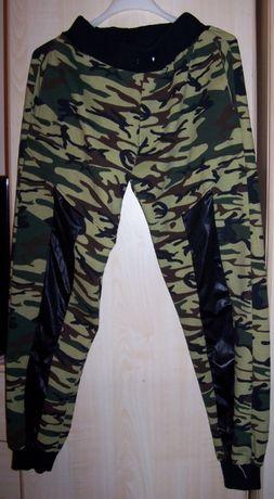 spodnie dresowe moro dresy