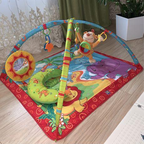 Розиваючий килимок, коврик Tiny Love + подарунок